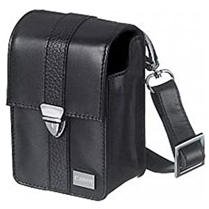 Canon Deluxe Leather Case for Canon Powershot Canon Digital Camera SX130, SX120, SX110, SX100, SX620, SX610, SX600, SX730, SX720, SX710, SX700 with Shoulder Strap, Belt Loop and Memory Card Pocket from Canon Canada