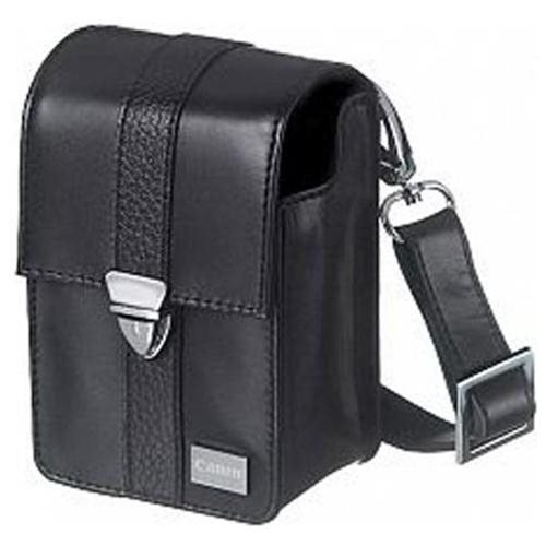 Canon Deluxe Leather Case for Canon Powershot Canon Digital Camera SX130, SX120, SX110, SX100, SX620, SX610, SX600, SX730, SX720, SX710, SX700 with Shoulder Strap, Belt Loop and Memory Card Pocket