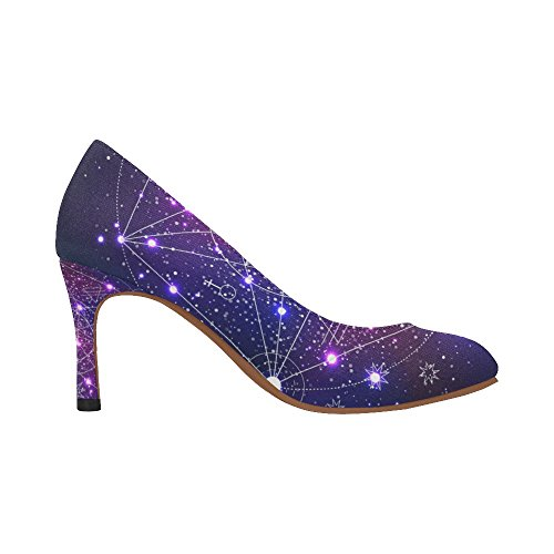 InterestPrint Womens Fashion High Heel Dress Pump Shoes Multi 9 yrKcMPZJ