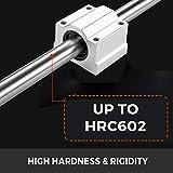 BestEquip Linear Rail Slide 2PCs 20mm x 300mm