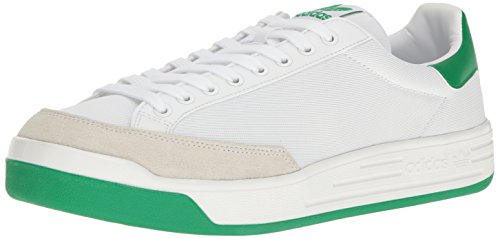 adidas Originals Men's Rod Laver Super Running Shoe, White/Fairway, ((8 M US)