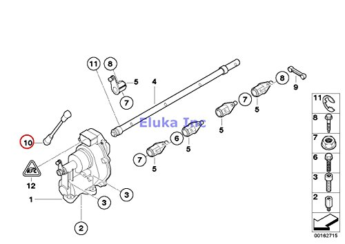 2 x BMW Genuine Fuel Injection Throttle Body/Acceleration Pull Rod M3 M3 M3 M3 M3 M3
