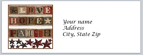 Primitive Font (120 Personalized Address Labels Primitive Country (c 800))