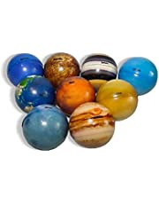 Betterday Solar System Stress Ball for Kids and Adult 9 Piece, Anti Stress Solar Planets Balls Educational Toys