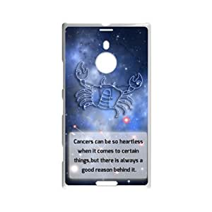 12 Constellation Signs - Custom Fantastic Amazing Believe In Cancer In Your Nokia Lumia 1520 Laser Technology Nokia Lumia Case AC118