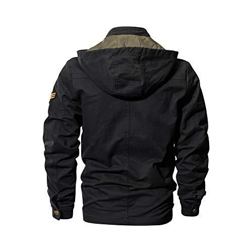 hiver Mrulic Automne Casual Noir3 Longues Chemise Hommes Pour À Manches wfrqAw0