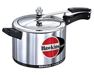 Hawkins Ekobase 5 Liters Aluminum Pressure Cooker from Mercantile International
