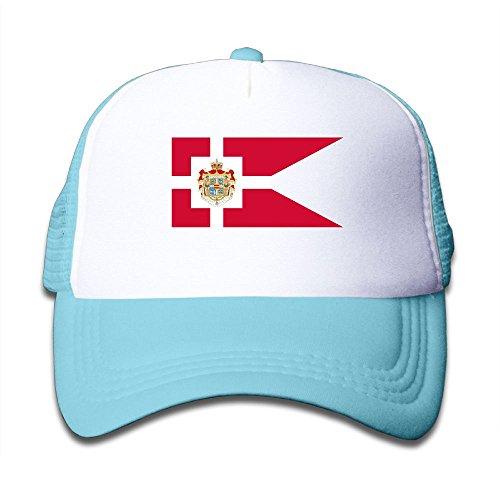 Elephant AN Flag Of Denmark Mesh Baseball Cap Kid Boys Girls Adjustable Golf Trucker Hat - Youth Sock Monkey Costume