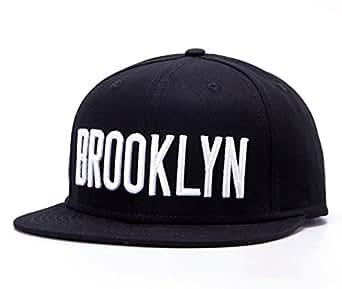 Home prefer new mens brooklyn embroidery flat brim black for Home prefer hats