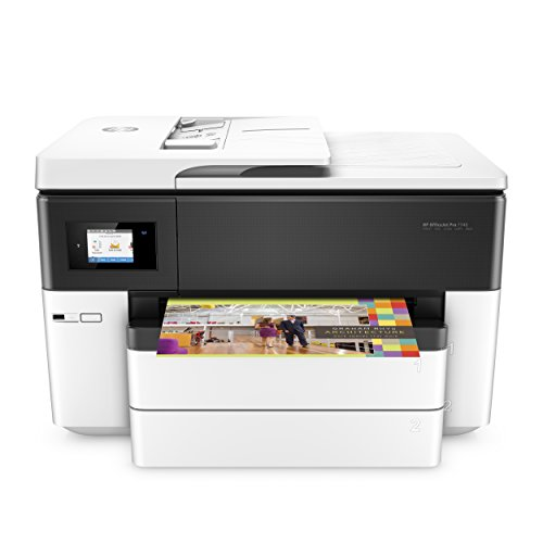 HP OfficeJet Pro 7740 Wide Format All-in-One Printer with Wireless & Mobile Printing, HP Instant Ink & Amazon Dash Replenishment ready - Size Scan Scanner 11x17