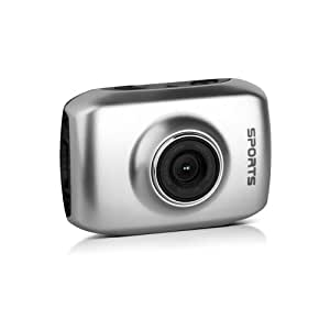 actioncam dvs1 silver touch screen action. Black Bedroom Furniture Sets. Home Design Ideas