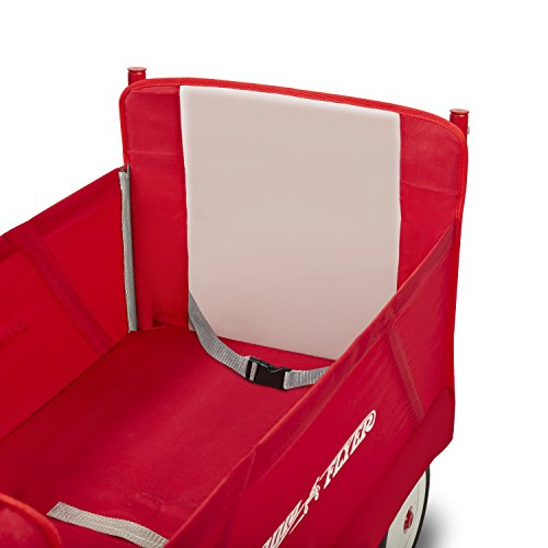 41bFwZUnskL - Radio Flyer 3-In-1 EZ Folding Wagon with Canopy for kids and cargo