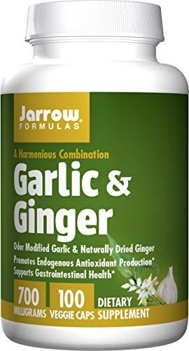 Jarrow Formulas - Garlic + Ginger, 700 mg, 100 capsules