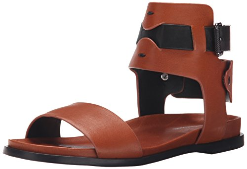Calvin Klein Jeans Womens Artemis Gladiator Sandal Nut Q3EkHAI