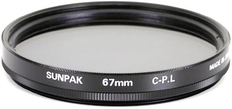 Sunpak 67mm Circular Polarized Filter