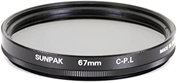 Sunpak 67mm Circular Polarized Filter