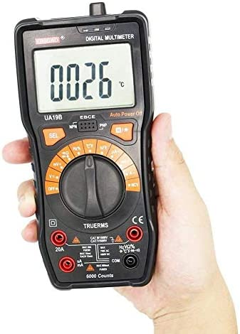 Multimeter UA19B Multimeter LCD Display Electric Voltmeter Ammeter Ohm Tester AC Testers Meter Digital Multimeters Auto Power Off Tools