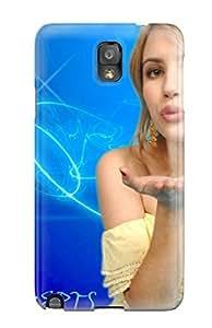 Cleora S. Shelton's Shop 5833038K48162590 New Premium Flip Case Cover Emma Roberts?wallpaper Skin Case For Galaxy Note 3