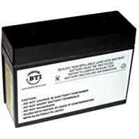 BATTERY TECHNOLOGY RBC12 UPS REPLACEMENT BETTERY / SLA12-BTI /