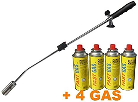 Gas weed burner Butane Torch