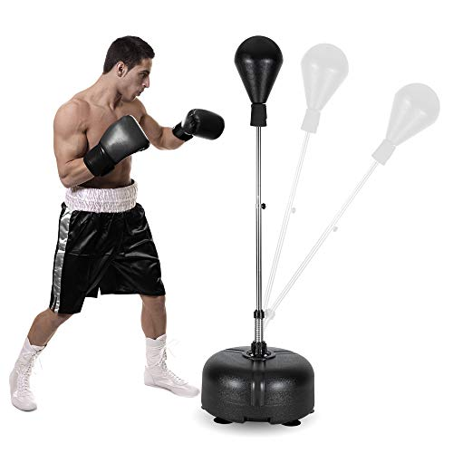 PEXMOR Reflex Bag, Freestanding Punching Bag with