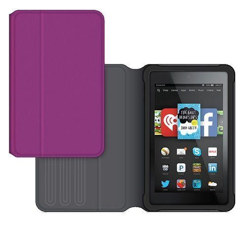 Griffin TurnFolio for Kindle Fire HD 6 - Berry Crush by Griffin Technology (Image #1)