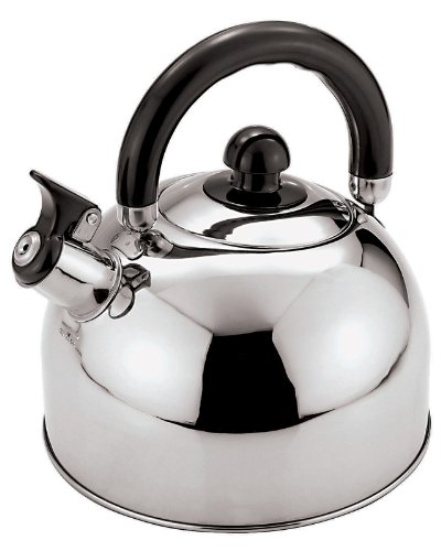 Paderno World Cuisine 3-Quart Stainless-steel Whistling Kettle by Paderno World Cuisine