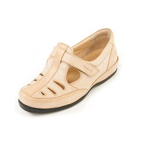 De Otra Zapatos Para Sandpiper Cordones Beige Piel Mujer AwB1zAq