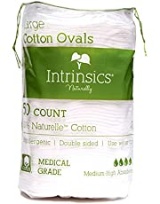 """407406 Large Oval Cotton Pads 3"""" - 50 Count"""