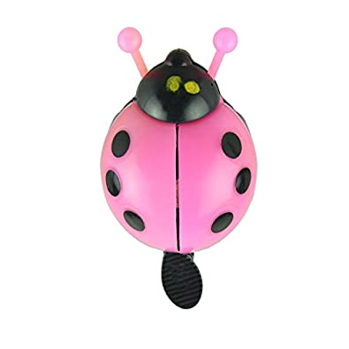 JD's Pink Bug Bi-Cycle One Flip Cling Bell (Click on JD India Gems and Rings to Visit and Buy All Our Products)