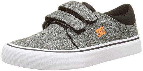 DC Shoes Jungen Trase V Flach Mehrfarbig (Black/Grey)