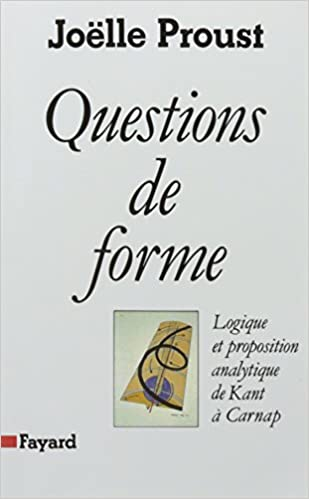 Questions forme, logique