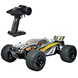 BAOHT 1 10 Scale High Speed 40km h 4WD 2.4Ghz Remote Control Truck - Radio Controlled Off-Road RC Car RTR Hobby Grade Cross-Country Car