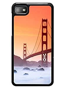 Cover Case for Blackberry Z10 - Fashion Golden Gate Bridge Design