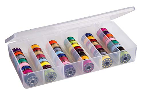 (ArtBin Large Bobbin Box- Clear Sewing Storage Container,8156AB)