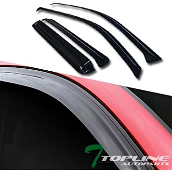 94802 AVS 4pc Window Vent Visor Rain Guards for Rainier Envoy Ascender