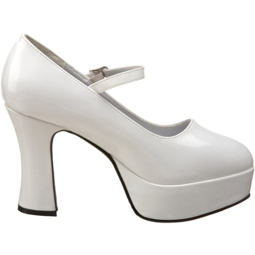 White 50X Halloween carnival MARYJANE shoes Funtasma costume vgqHY