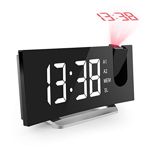 Mpow Projection Alarm Curved Screen Sounds product image