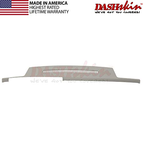 DashSkin Molded Dash Cover Compatible with 88-94 GM Trucks in Light Grey (USA Made)