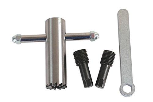 Laser - 6360 Oil Sump Drain Plug Seat Re-Surfacing Tool Kit (6360 Laser)