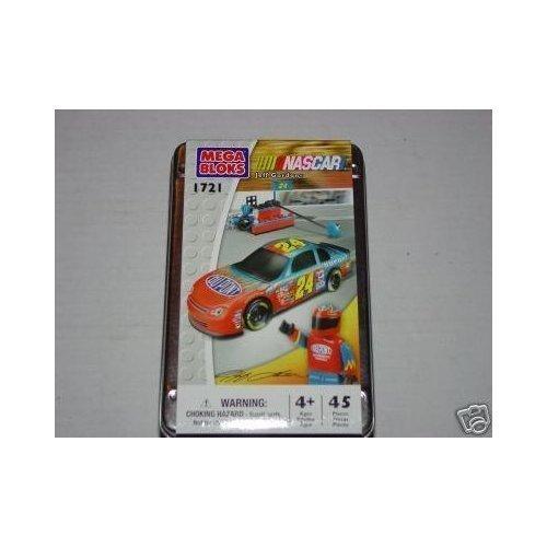 Mega Bloks #1721 NASCAR Jeff Gordon #24 Car And Figure Set