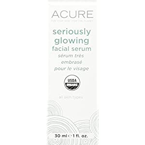 Acure Brilliantly Brightening Glowing Serum, 1 Fluid Ounce