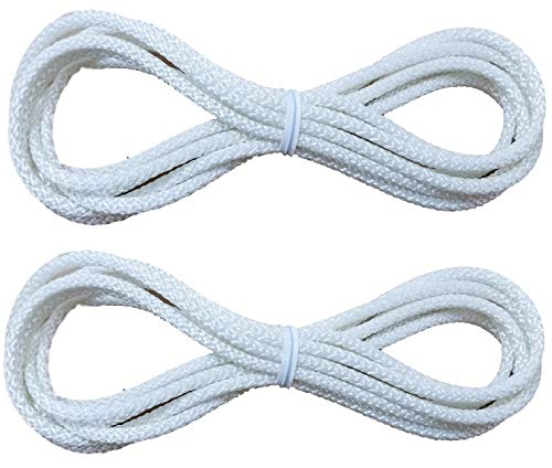 True Choice Cord Loops Fits All Major Brands Like Hunter Douglas, Levolor, Kirsch, Graber, Bali, Used On Most Cellular and Pleated Shades (2.7 mm) (5 Ft.) (2 Pack)