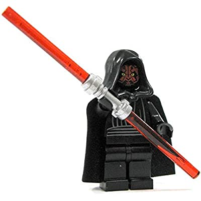 LEGO Star Wars Minifigure - Darth Maul with Dual Lightsaber: Toys & Games