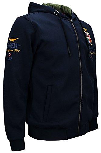JIINN Moda Hombre Casual Espeso béisbol Bordado Chaqueta de la Fuerza aérea del Bombardero Otoño Invierno Caliente Militar Sudadera con Capucha Abrigos: ...