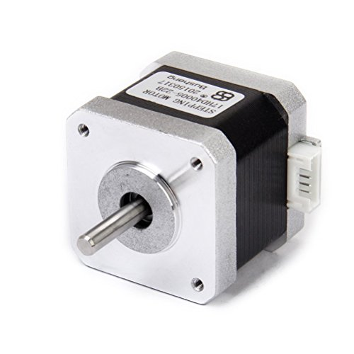 LEORX Nema 17 2 Phase 4-Wire 1.5A 40mm 1.8 Stepper Motor for 3D Printer