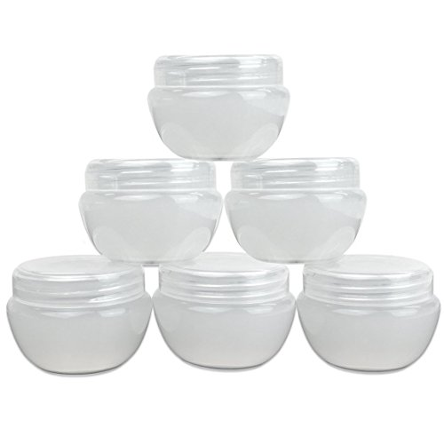 Beauticom Frosted Cosmetic Refillable Container