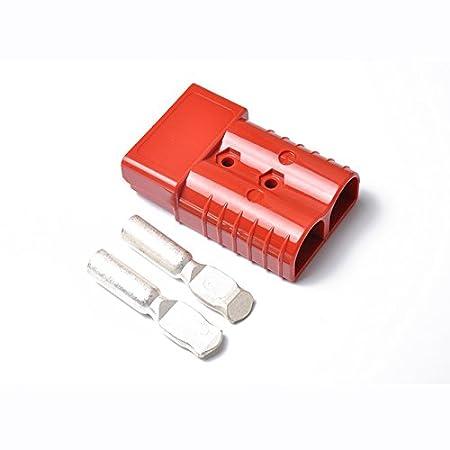 Zantec kit auto, regali per auto, prodotti per auto, Spina adattatore per carrelli elevatori 350A 600V Spina con spina a 2 poli