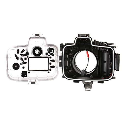 40M Waterproof Underwater Diving Housing Camera Case for Canon 5D Mark III IV 5D3 5D4 Camera