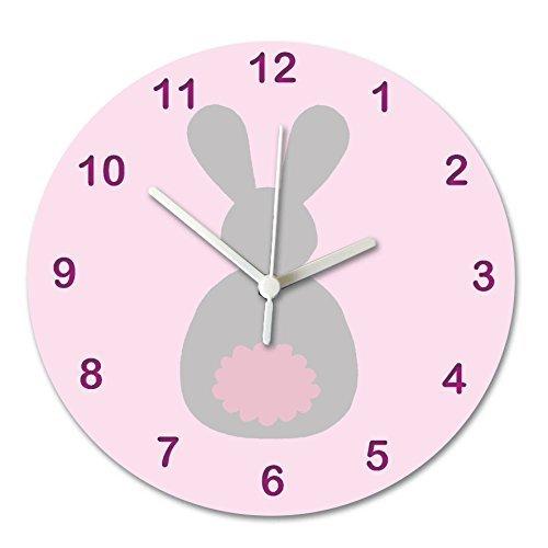 hiusan Nursery Clock, Baby Clock, Boys Clock, Boys Room Cloc
